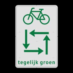 Verkeersbord RVV VR04 verkeerslicht