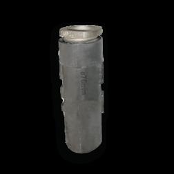 Grondpot 300 mm voor buis Ø48 mm