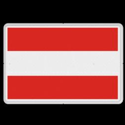 Scheepvaartbord Invaart, uitvaart of doorvaart verboden. Bij gebruik van dit teken voor permanente eenrichtingsverkeer bij vaste bruggen wordt het teken D.1b geplaatst aan de zijde waar doorvaart is toegestaan. Verbordsteken A.1 kan ook worden uitgevoerd door middel van twee rode vaste lichten boven elkaar. Het verbieden van de doorvaart voor een bepaalde categorie schepen geschiedt met de borden A.12 tot en met A.20 en niet door het gebruik van A.1 met onderbord. Het verbod kan ook aangegeven worden door middel van een op een boei geplaatste, horizontale rood-wit-rood gestreepte cilinder. Scheepvaartbord BPR A. 1 - Invaart, uitvaart of doorvaart verboden A. 1 scheepvaart, verbodstekens, water, A1, Invaart, uitvaart of doorvaart verboden, verbodsborden, waterweg, waterwegen, scheepvaarttekens, verkeerstekens, BPR