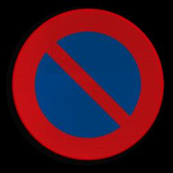 Verkeersbord E01: Parkeerverbod Verkeersbord België E1 - Parkeerverbod E1 niet parkeren, E1, Parkeerverbod, verboden te parkeren