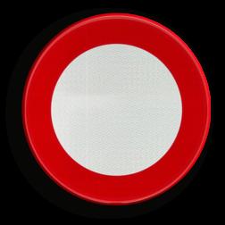 Verkeersbord C3: Verboden toegang, in beide richtingen, voor iedere bestuurder Verkeersbord België C3 - Verboden toegang, in beide richtingen, voor iedere bestuurder C3 verbodsbord, C01, bestuurders, gesloten, verkeer,