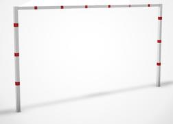Hoogtebegrenzer SH2 - 2,3 mtr. - Vaststaand - Bodemmontage Doorrijhoogte, Hoogte, Begrenzer, Beperking, parkeergarage, Portaal, Hoogtebalk, C19-vrij invoerbaar, C19, L01