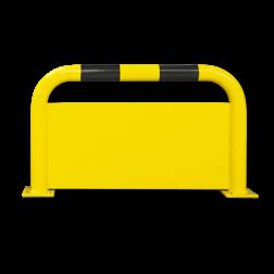 Beschermbeugel hek Ø76mm met tussenplaat Aanrijdbeveiliging, Aanrijdbeugel, Beugel, Aanrijding, Beveiliging, Ram, Rambeugel, Aanrijdbescherming, Vangrail
