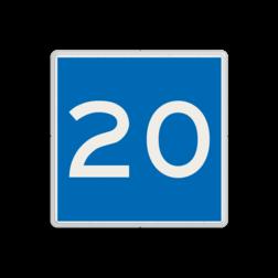 Scheepvaartbord Toestemming ligplaats te nemen (ankeren en meren) tot ten hoogste de aangegeven breedte in meters gerekend vanaf het bord. Het teken kan zelfstandig worden gebruikt, dat wil zeggen dat het markeren van een ligplaats kan geschieden zonder toevoeging van een van de tekens E.5 tot en met E.7. Scheepvaartbord BPR E. 5. 1 - Toestemming ligplaats te nemen tot de breedte in aangegeven meters E. 5. 1 afmeren, water, E5.1, aanwijzingstekens, aanwijzingsborden, waterweg, waterwegen, scheepvaarttekens, verkeerstekens,