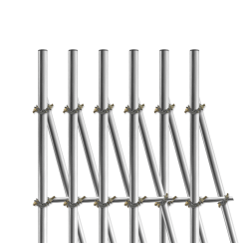 Opstelunit A06 buispaal 3200mm boven maaiveld - compleet paal, bevestigen, vastmaken, buispaal, palen, verkeersbordpaal, bordpaal