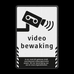 Verkeersbord videobewaking - Basic cameratoezicht, VPRO