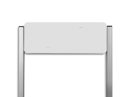 Parkeerplaatsbord unit TS3 / zonder opdruk blank, blanco, Parkeerbord, parkeerplaats, unit,