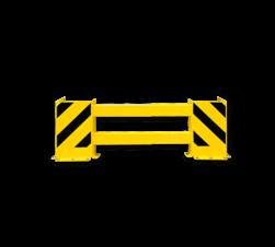 Stellingbeschermer Kunststof 900-1300mm - Black Bull Aanrijbeveiliging, aanrijdbeveiliging, beschermingsmiddel, jukbeschermers