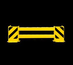Stellingbeschermer Kunststof 1700-2100mm - Black Bull aanrijbeveiliging, aanrijdbeveiliging, beschermingsmiddel, jukbeschermers