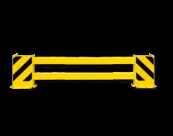 Stellingbeschermer Kunststof 2300-2700mm - Black Bull aanrijbeveiliging, aanrijdbeveiliging, beschermingsmiddel