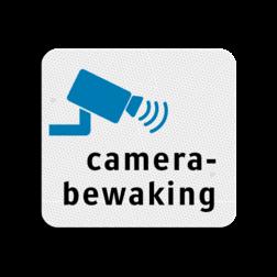 TBW  Camerabewaking 119x109mm - klasse 3 Terreinbord, 119x109, Camera, Bewaking