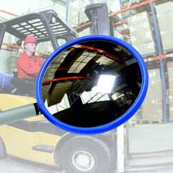 Inspectiespiegel rond 150mm acryl Jislon, veiligheidspiegel, veiligheidsspiegel, buitenspiegel, inspectiespiegel, controlespiegel