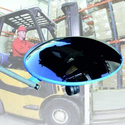Inspectiespiegel rond 450mm acryl Jislon, veiligheidspiegel, veiligheidsspiegel, buitenspiegel, inspectiespiegel, controlespiegel