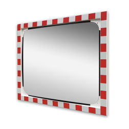 Verkeersspiegel polycarbonaat 1000x800mm Jislon, verkeerspiegel, veiligheidspiegel, veiligheidsspiegel, buitenspiegel