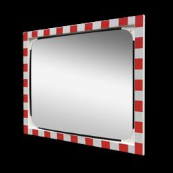 Verkeersspiegel veiligheidsglas 1000x800mm Jislon, verkeerspiegel, veiligheidspiegel, veiligheidsspiegel, buitenspiegel