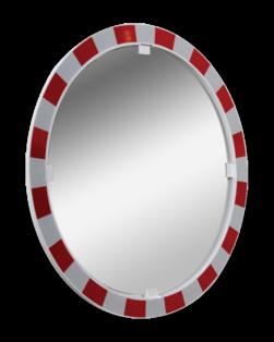 Verkeersspiegel Acryl rond 80cm Jislon, verkeerspiegel, veiligheidspiegel, veiligheidsspiegel, buitenspiegel