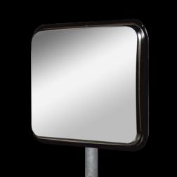 Industriespiegel RVS 800x600mm zonder kader Jislon, verkeerspiegel, veiligheidspiegel, veiligheidsspiegel, buitenspiegel, magazijnspiegel