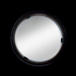 Verkeersspiegel Ø600mm acryl - grote kijkhoek 180 graden Jislon, verkeerspiegel, veiligheidspiegel, veiligheidsspiegel, buitenspiegel, bolle,