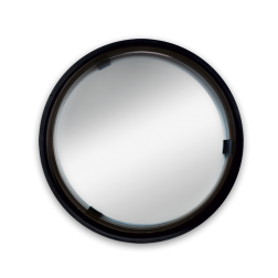Verkeersspiegel Ø600mm acryl - grote kijkhoek Jislon, verkeerspiegel, veiligheidspiegel, veiligheidsspiegel, buitenspiegel
