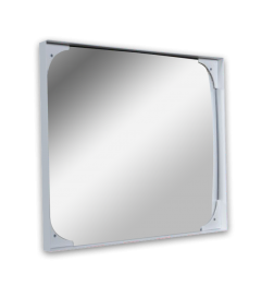 Industriespiegel 1000x800mm Jislon, verkeerspiegel, veiligheidspiegel, veiligheidsspiegel, buitenspiegel, magazijnspiegel