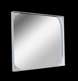 Industriespiegel 600x400mm Jislon, verkeerspiegel, veiligheidspiegel, veiligheidsspiegel, buitenspiegel, magazijnspiegel, productie, industriespiegel