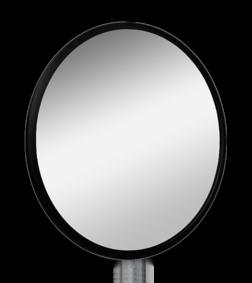 Industriespiegel rond 600mm Jislon, verkeerspiegel, veiligheidspiegel, veiligheidsspiegel, buitenspiegel, magazijnspiegel