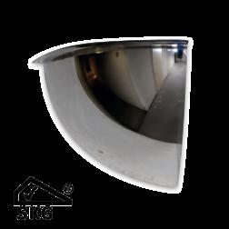 Kogelspiegel 600mm - kijkhoek 90° - met SKG keurmerk Jislon, verkeerspiegel, veiligheidspiegel, veiligheidsspiegel, buitenspiegel, magazijnspiegel