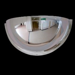 Kogelspiegel 500mm - kijkhoek 180° Kogelspiegel, bolspiegel, observatiespiegel, kijkhoek, 90, 180, 360, graden, SKG, acryl