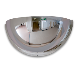 Kogelspiegel 600mm - kijkhoek 180° Jislon, bolspiegel, observatiespiegel, kogelspiegel, overzicht, 360, 180, 90, graden
