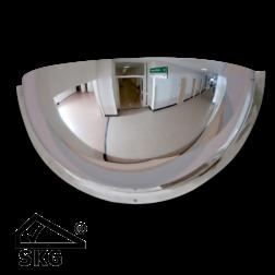 Kogelspiegel 500mm - kijkhoek 180° - met SKG keurmerk Jislon, verkeerspiegel, veiligheidspiegel, veiligheidsspiegel, buitenspiegel, magazijnspiegel