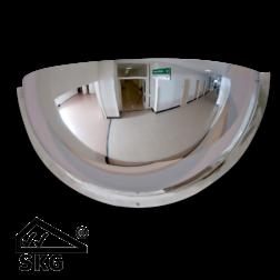 Kogelspiegel Ø600mm - kijkhoek 180° - met SKG-VV keurmerk Jislon, verkeerspiegel, veiligheidspiegel, veiligheidsspiegel, binnenspiegel, magazijnspiegel
