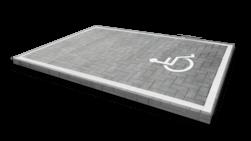 Markering MIVA-figuratie wegenverf