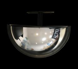 Heftruck spiegel inclusief beugel Jislon, verkeerspiegel, veiligheidspiegel, veiligheidsspiegel, buitenspiegel, magazijnspiegel, heftruckspiegel, heftruck