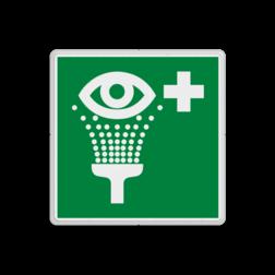 Reddingsbord E011 - Oogdouche Reddingsbord E011 - Oogdouche Ogen, Douchen, veiligheid, oog reiniging, oogspoeling, vluchtroutebord, reddingsmiddelbord, vluchtroutebord, reddingsmiddelbord, evacuatie, evacuatiebord, veiligheidspictogram, veiligheidsbord, Nooduitgang pictogrammen, Vluchtrouteaanduiding, Verzamelplaats pictogram, Reddingspictogram, nooduitgang symbool, teken, icoon, symbolen, reddingsborden, bhv bord