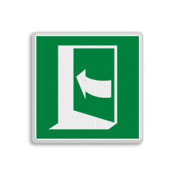 Product E022 - Deur opent door links te drukken Vluchtroute bordje E022 - Deur opent door links te drukken vluchten, deuren, rechter escape, vluchtdeur, vluchtroutebord, reddingsmiddelbord, vluchtroutebord, reddingsmiddelbord, evacuatie, evacuatiebord, veiligheidspictogram, veiligheidsbord, Nooduitgang pictogrammen, Vluchtrouteaanduiding, Verzamelplaats pictogram, Reddingspictogram, nooduitgang symbool, teken, icoon, symbolen, reddingsborden, bhv bord