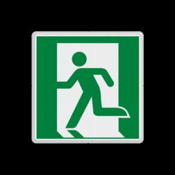 Product E001 - Nooduitgang links Vluchtroute bordje E001 - Nooduitgang links Nooduitgang, vluchtroute, route, deur, rechts, vluchtroutebord, reddingsmiddelbord, vluchtroutebord, reddingsmiddelbord, evacuatie, evacuatiebord, veiligheidspictogram, veiligheidsbord, Nooduitgang pictogrammen, Vluchtrouteaanduiding, Verzamelplaats pictogram, Reddingspictogram, nooduitgang symbool, teken, icoon, symbolen, reddingsborden, bhv bord