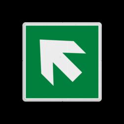 Product E006 - trap op richting reddingsmiddel Vluchtroute bordje E006 - trap op richting reddingsmiddel Pijl, links, wijzend, pijlen, rechts, trap af, vluchtroutebord, reddingsmiddelbord, vluchtroutebord, reddingsmiddelbord, evacuatie, evacuatiebord, veiligheidspictogram, veiligheidsbord, Nooduitgang pictogrammen, Vluchtrouteaanduiding, Verzamelplaats pictogram, Reddingspictogram, nooduitgang symbool, teken, icoon, symbolen, reddingsborden, bhv bord