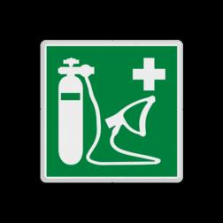 Reddingsbord E027 - Beademingsapparaat Reddingsbord E027 - Beademingsapparaat Zuurstof, beademing, benauwd,, vluchtroutebord, reddingsmiddelbord, vluchtroutebord, reddingsmiddelbord, evacuatie, evacuatiebord, veiligheidspictogram, veiligheidsbord, Nooduitgang pictogrammen, Vluchtrouteaanduiding, Verzamelplaats pictogram, Reddingspictogram, nooduitgang symbool, teken, icoon, symbolen, reddingsborden, bhv bord