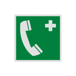 Product Noodtelefoon Pictogram E004 - Noodtelefoon E004 Nood, bellen, telefoon, alarm, alarmnummer, , vluchtroutebord, reddingsmiddelbord, evacuatie, evacuatiebord, veiligheidspictogram, veiligheidsbord, Nooduitgang pictogrammen, Vluchtrouteaanduiding, Verzamelplaats pictogram, Reddingspictogram, nooduitgang symbool, teken, icoon, symbolen, reddingsborden, bhv bord