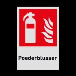 Product F001 - Blusapparaat Pictogram F001 - Poederblusser Brand, trap, locatie, vuur, blussen, vluchten, brandblusapparaat, blusmiddel, Blusapparaatpicto, Brandbestrijdingsteken, brandbestrijdingspicto, poederblusser, schuimblusser, Koolzuursneeuwblusser