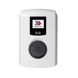 Single Pro-Line met socket / 3,7 tot 22kW (1 of 3 fase) Laadstation, oplaadpaal, laadpaal, Alfen, ICU, Singel, S-line, oplader, elektrische auto, thuis, aan huis, laadpunt, oplaadpunt, laadsessie, registreren, registratie, autolaadpunt, laadpasje, RFID, type 1, type 2, back, office, laadstation, load, balancing, plug, charge