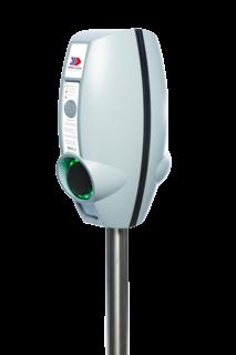 EVBox BusinessLine met twee aansluitingen Laadstation, oplaadpaal, laadpaal, EV-Box, EVBox, oplader, elektrische auto, thuis, aan huis, laadpunt, oplaadpunt, laadsessie, registreren, registratie, autolaadpunt, laadpasje