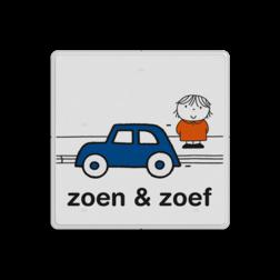 Dick Bruna - Zoen & Zoef Nijntje, vvn, school, schoolzone, Miffy, Dick Bruna, spelende kinderen