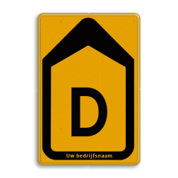 Omleidingsbord - T201b-d - Werk in uitvoering Tekstbord, WIU bord, tijdelijke verkeersmaatregelen, werk langs de weg, omleidingsborden, tijdelijk bord, werk in uitvoering, gevaarlijk terrein, drijf zand