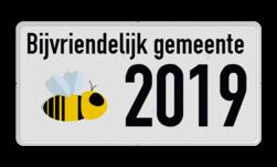 Informatiebord Natuur en Milieu - Bijvriendelijke gemeente logobord, Natuur&Milieu, Natuur & Milieu, Zoemt, Bijvriendelijke gemeente, Bijen, Bij, vriendelijke, Gemeente