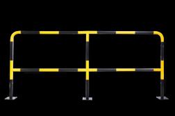 Beschermhek DSR 2440mm - Aanrijdbescherming staal aanrijdbeveiliging, aanrijdbescherming, beschermbeugel, hek, afzethek