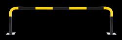Beschermbeugel SR 1830mm - Aanrijdbescherming staal aanrijdbeveiliging, aanrijdbescherming, beschermbeugel, hek, afzethek