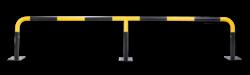 Beschermbeugel SR 2440mm - Aanrijdbescherming staal aanrijdbeveiliging, aanrijdbescherming, beschermbeugel, hek, afzethek