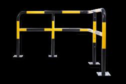 Hoekbeugel DSR - Aanrijdbescherming staal aanrijdbeveiliging, aanrijdbescherming, beschermbeugel, hek, afzethek, hoekbeugel