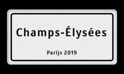 Straatnaambord Frankrijk 600x300 Straatnaambord, Frans, Frankrijk, Naambord, Parijs, Lille, Champs-Élysées